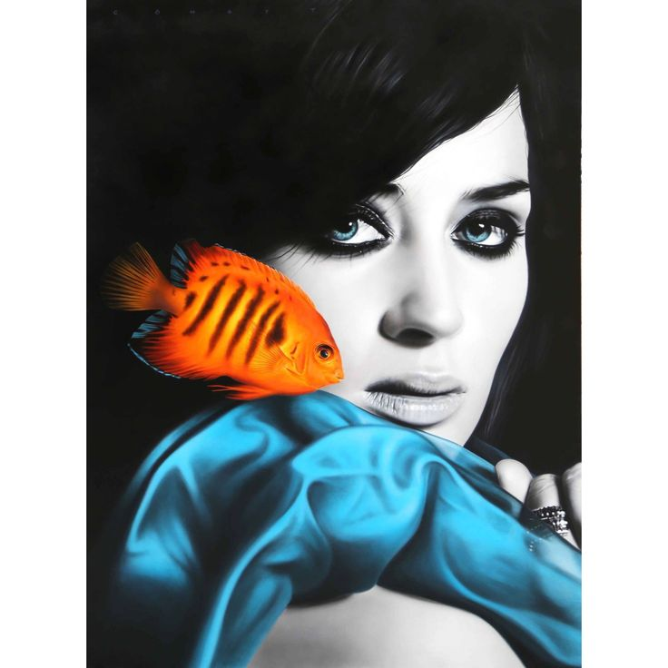 "Cömert Doğru ""Inception(Emily Blunt)"" 180x130cm/acrylic on canvas/2015"