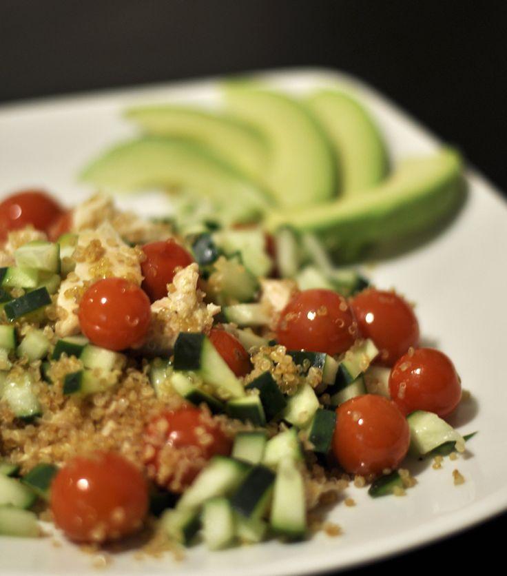 Quinoa fresh salad for summer days