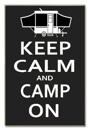 "Keep Calm and Race On pop up Camper Wood Sign Handpainted 16"" X 10.5"" X .5"" Wall Classic Art Jewelry http://www.amazon.com/dp/B00EEBE9OY/ref=cm_sw_r_pi_dp_PrTxub117JY48"
