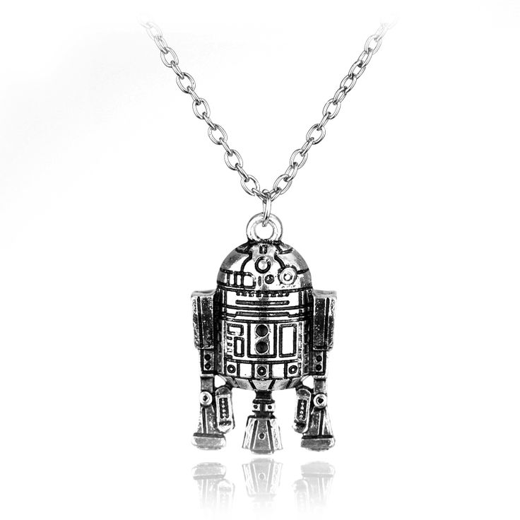 Beaux Bijoux Star Wars Necklace - Silver Tone Star of Death Pendant - Movie Inspired Jewellery dG50S
