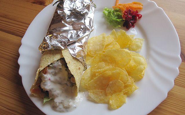 Wrap de Carne de Porco - http://www.receitaspraticas.net/wrap-de-carne-de-porco/