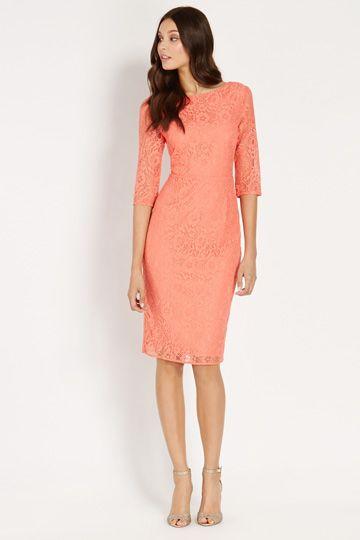 Oasis - Lace midi dress