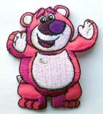 Disney Pixar Toy Story Lotso The Hugging Bear Iron / Sew On Embroidered Patch Art & Craft