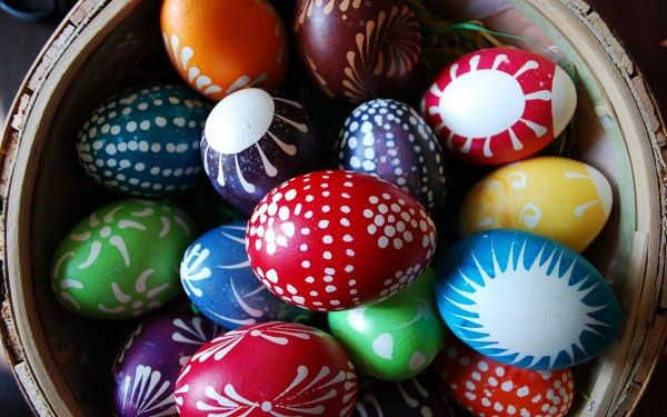 Colorful Easter eggs!: Holiday Ideas, Gift, Diy Crafts, Holidays, Easter Eggs, Craft Ideas, Design, Easter Ideas