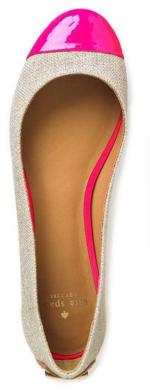 Color Pop!:: Pink and Nude Flats:: Chic Flats:: Get in my Closet