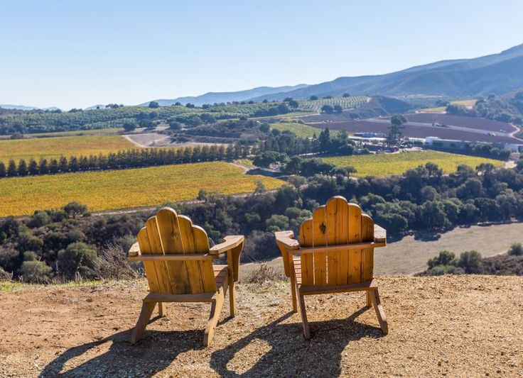 Inspiring views of the sloping Santa Lucia Highlands from Hahn Family Wines.