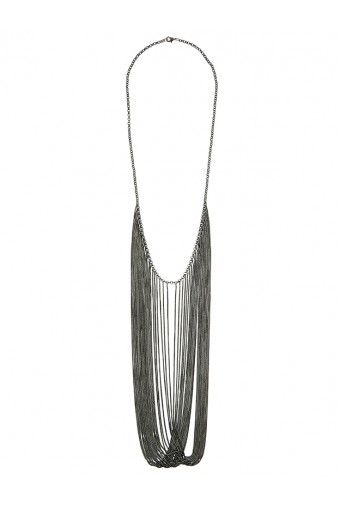 Gold Rush Necklace - Black