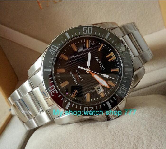 102.6$ <b>Watch</b> now - <b>PARNIS</b> 43mm Japanese <b>Automatic</b> Self-Wind ...