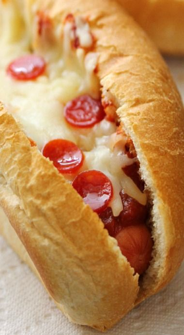pizza hot dog                                                                                                                                                                                 More