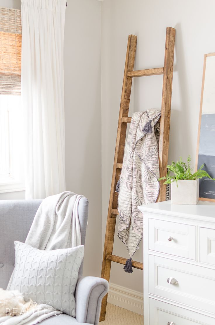Simple Farmhouse Master Bedroom