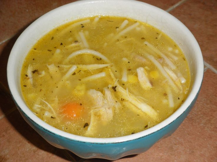 Homemade Chicken Noodle Soup #glutenfree and delicious!