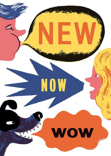 NEW NOW WOW by Doris Freigofas | GOLDEN COSMOS, via Flickr