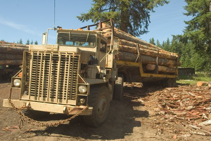 Logging truck - Wikipedia, the free encyclopedia
