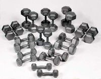 Bodypower5-30Kg Hex Dumbbell Set (11 Prs) - click to enlarge