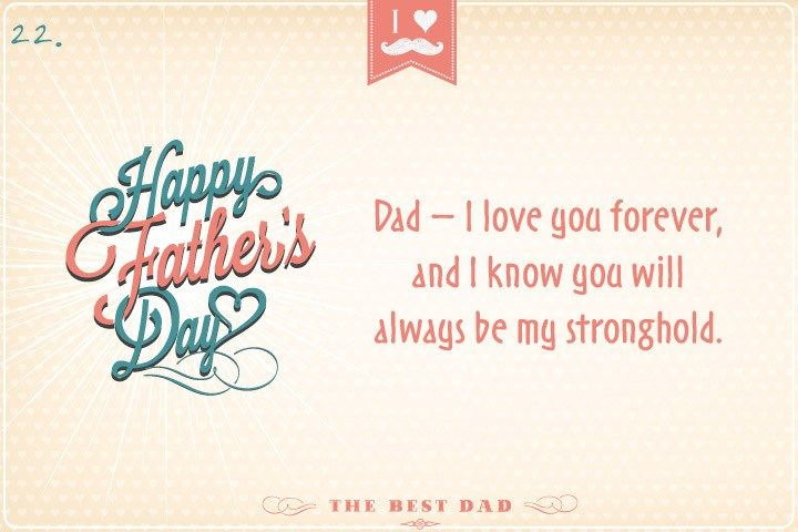 Dad I Love You Forever And Happy Fathers Day Quotes 2016