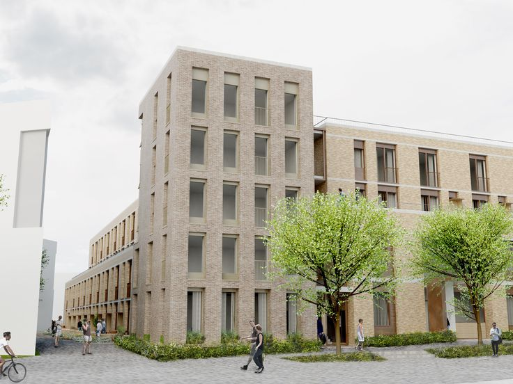 Mole Architects are using Idealcombi windows for the North West Cambridge Development - lot 1