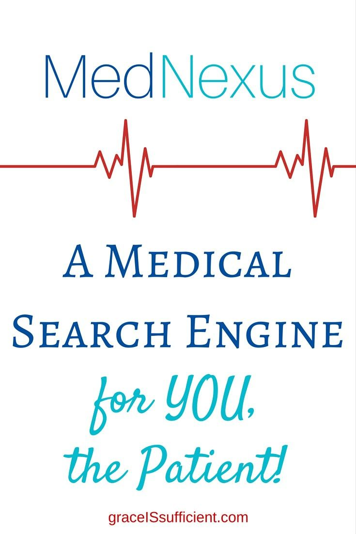 MedNexus – A Medical Search Engine for YOU, the Patient!