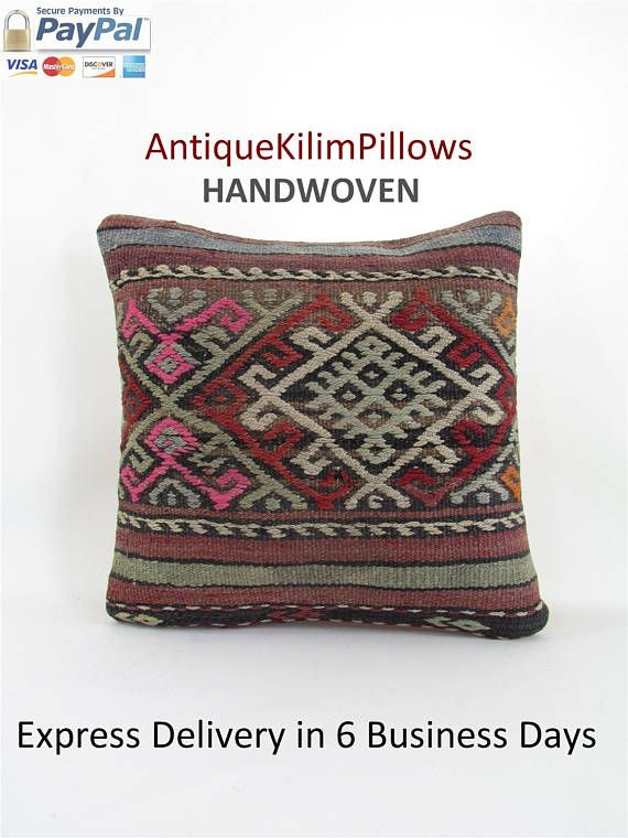 kilim pillow home decor kilim pillow cover decorative pillow rustic pillow cover country decor throw pillow 001052 #pillows #VintagePillowCase #GypsyThrowPillow #CountryDecor #HomeDecor #KilimPillow #DecorativePillow #KilimPillowCover #RusticPillowCover #PillowCushions