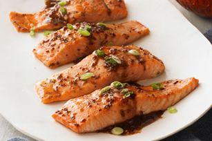 Maple-Balsamic Salmon Fillets