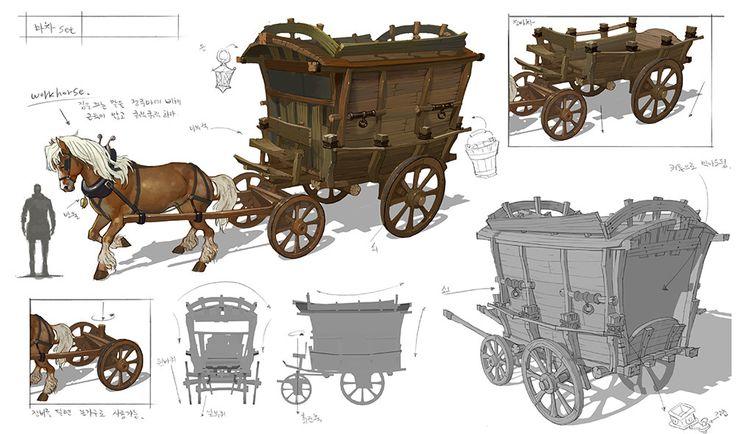 cart , etc. , sun chan Hwang on ArtStation at https://www.artstation.com/artwork/VDqv8