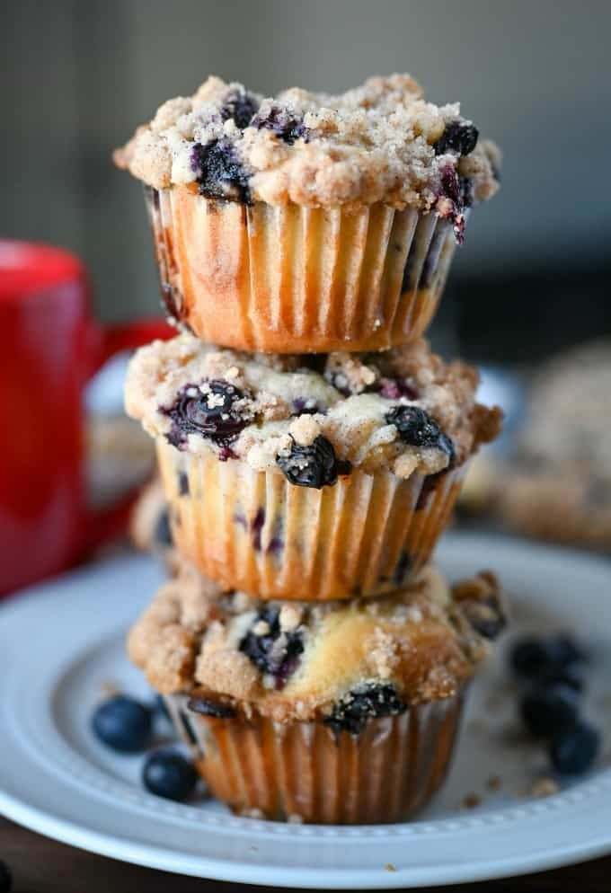 Sour Cream Blueberry Muffins Recipe Butter Your Biscuit Recipe In 2020 Sour Cream Blueberry Muffins Muffin Recipes Blueberry Sour Cream Muffins