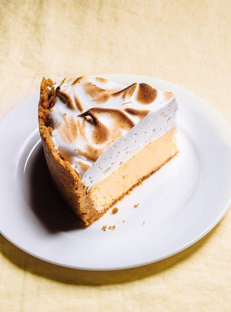 Recette de Ricardo de gâteau au fromage au citron meringué