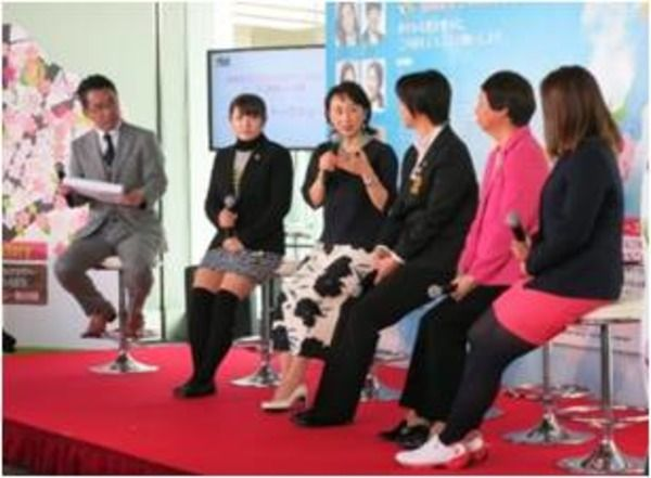 日本女子プロゴルフツアー開幕イベント開催…トークショーやゴルフゲーム実施