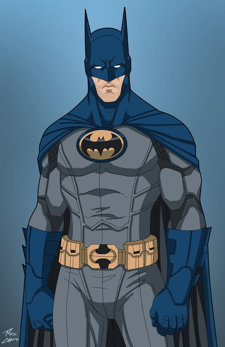 "This is a recolor of the ""Justice League Batman"" phil-cho did for Earth-27's Batman. This is meant to be an approximation of what his suit would have looked like in the aftermath of Babs' crippling..."