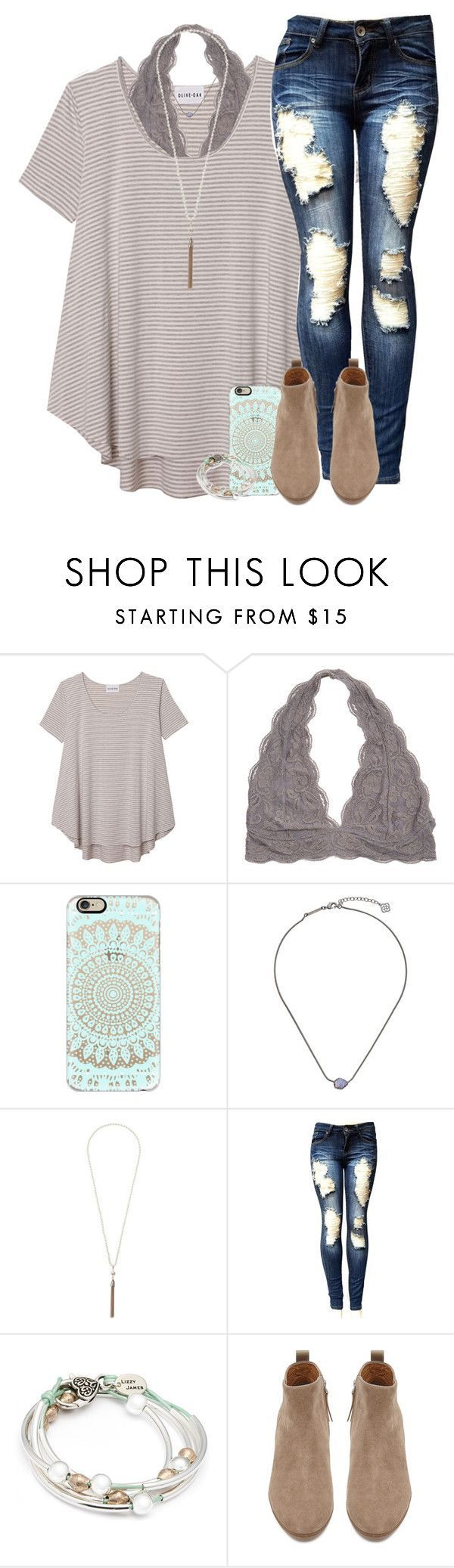 """100 questions nobody asks tag:)"" by wrigley67 on Polyvore featuring Olive + Oak, Casetify, Kendra Scott, Wallis, Lizzy James and Witchery"