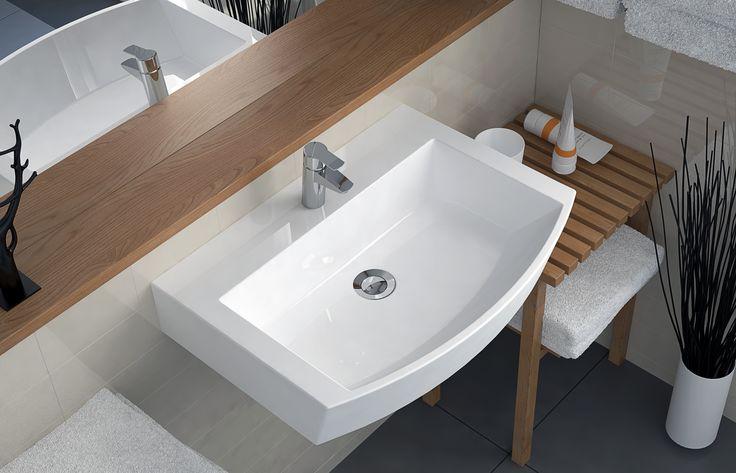 a washbasin SONYA 600C  #marmite #marmiteSA #bathroom #bathroomdesign #simpledesign #interiordesign #InterieurDesign #schlichtesdesign #modernesdesign #designmoderno