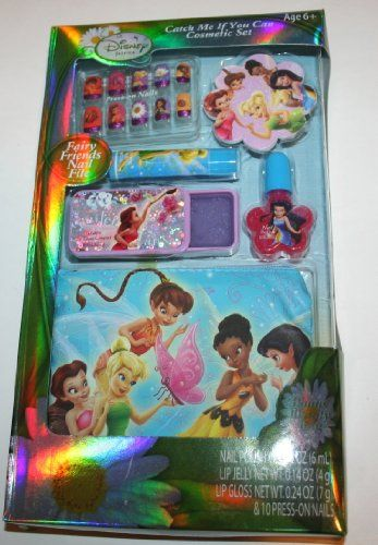 Disney Tinkerbell and the Great Fairy Rescue Catch Me If You Can Cosmetic Set * For more information, visit image link.
