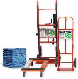 Protect Your Back! Use a Hand Truck, Furniture Dolly, and Appliance Dolly when moving Cargo