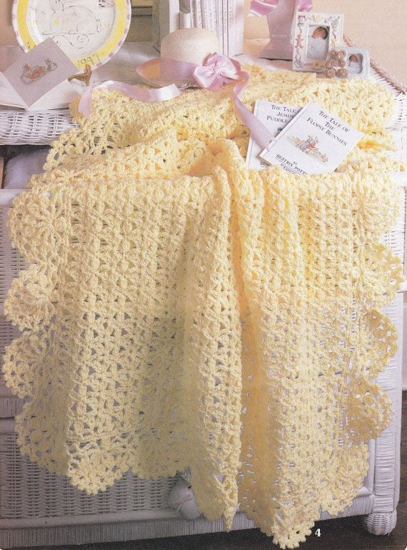 Beautiful Baby Afghan Crochet Patterns