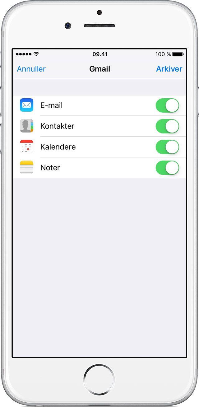 Her er nogle tips til, hvordan du overfører kontakter, fotos, musik, dokumenter og andet indhold fra en Android-enhed til en ny iPhone, iPad eller iPodtouch.