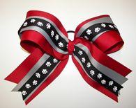 #Georgia #Bulldogs Football Huge #Cheer Bow