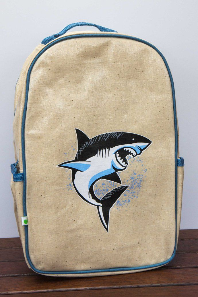 Apple and Mint Backpack Shark