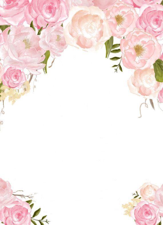 background flowersbackground Inviti per matrimonio
