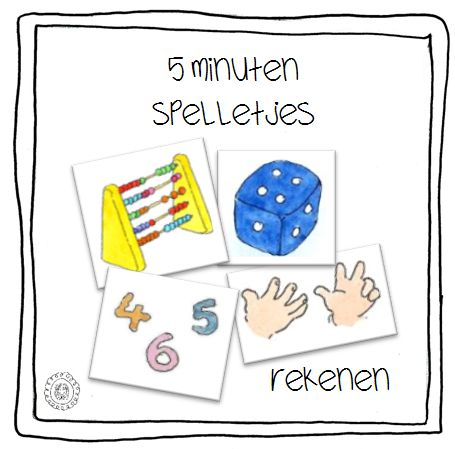 Kleuterjuf in een kleuterklas: 5 minuten spelletjes | REKENEN