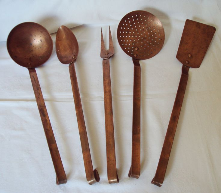 Best Very Vtg Kitchen Copper Real Images On Pinterest