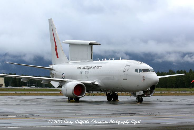 Boeing E-7A (B-737-7ES) Wedgetail AEWC Royal Australian Air Force A30-004 2 Sqn RAAF Base Williamtown