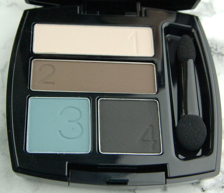 Avon True Colour Eyeshadow Quad / Crease-proof Eye Shadow: Smoke & Fog  (RRP £9) #Avon