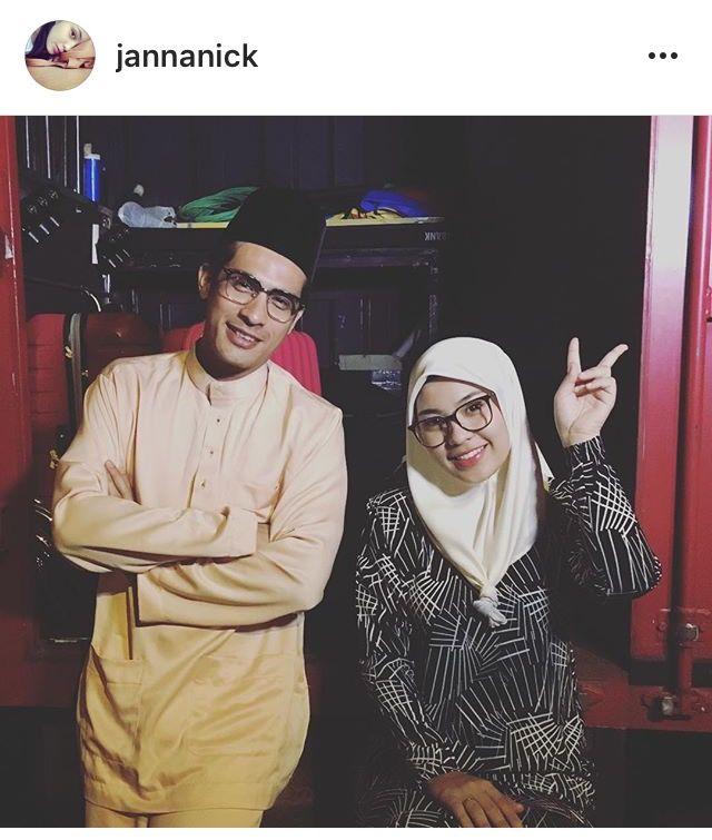 Hijabi eyeware  #jannanick IG