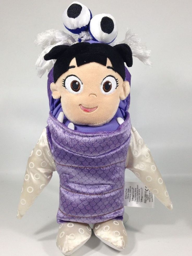 "Disney Store Pixar Monsters Inc Boo Plush Doll In Costume 11""  #Disney"