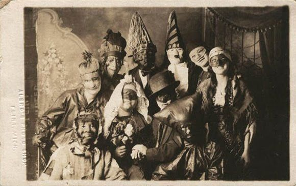 old time halloween images | Old Halloween Photos