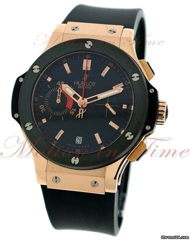 "Hublot Big Bang ""UEFA Euro 2008"", Black Dial, Limited Edition to 500 Pieces - Rose Gold on S"