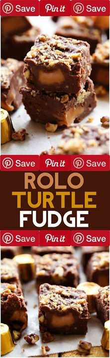 Turtle Fudge 10 mins to prepare Ingredients Vegetarian Gluten free Canned Goods 2/3 cup Evaporated milk Condiments  cup Butter or margarine Baking & Spices 1 cup Brown sugar packed light 2 cups Granulated sugar 1 2 cups (12-oz. pkg.) Hersheys kitchens semi-sweet chocolate chips 54 Rolo chewy caramels in milk chocolate 1 tsp Vanilla extract Nuts & Seeds 1 cup Pecans Tools & Equipment 1 Jar (7 oz.)