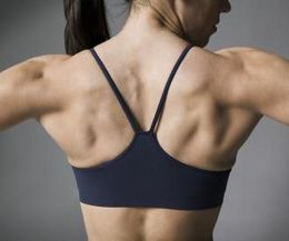 There are a series of exercises that can get rid of body fat and tone the back muscles.