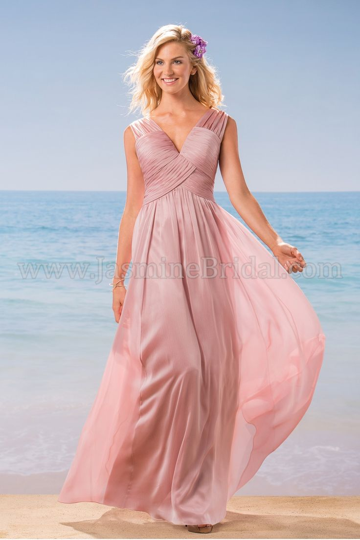 52 best spring 2016 bridesmaids images on pinterest jasmine jasmine bridal bridesmaid dress belsoie style l184012 in misty pink ombrellifo Choice Image