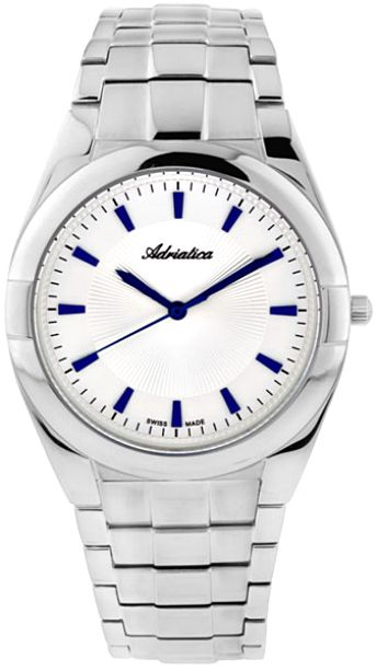 Мужские часы Adriatica A1272.51B3Q Женские часы Jacques Lemans 1-1778N