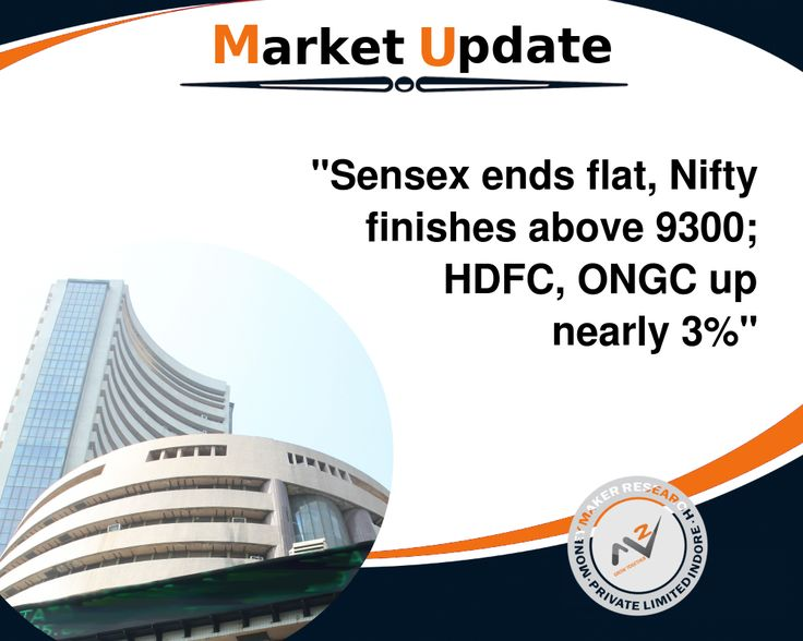 #Equity benchmarks ended the session on a flat note, after witnessing a volatile trading day as the Street swung higher by 150 points, before consolidating. The #Sensex was up 2.78 points at 29921.18, while the #Nifty was up 9.75 points at 9313.80. The market breadth was negative as 1,358 shares advanced against a decline of 1,546 shares, while 153 shares were unchanged. HDFC, ONGC and Indiabulls Housing Finance were top gainers, while Lupin, Bharti Airtel and Tata Motors DVR lost the most…